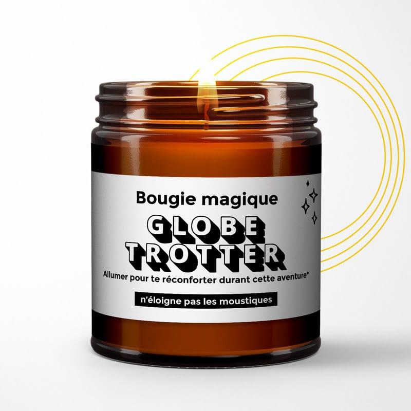 Bougie globe-trotter
